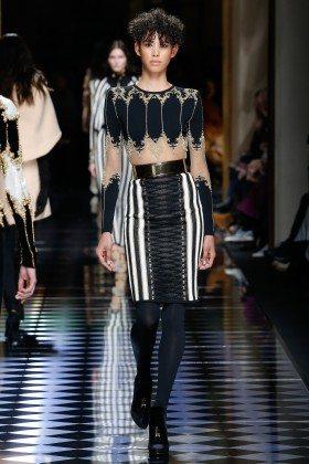 Janiece Dilone - Balmain Fall 2016 Ready-to-Wear
