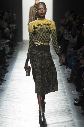 Ajak Deng - Bottega Veneta Fall 2016 Ready-to-Wear