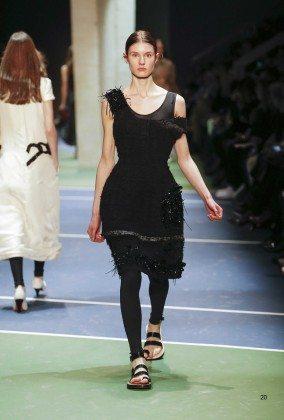 Alicia Holtz - Céline Fall 2016 Ready-to-Wear
