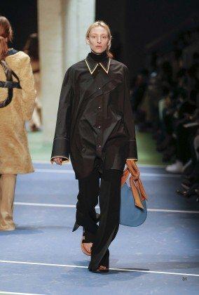 Maggie Maurer - Céline Fall 2016 Ready-to-Wear