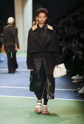 Lineisy Montero - Céline Fall 2016 Ready-to-Wear