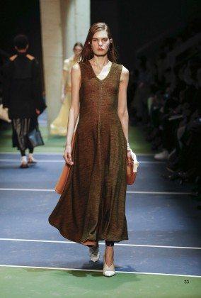 Sophie Rask - Céline Fall 2016 Ready-to-Wear