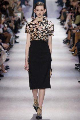 Allyson Chalmers - Christian Dior Fall 2016 Ready-to-Wear