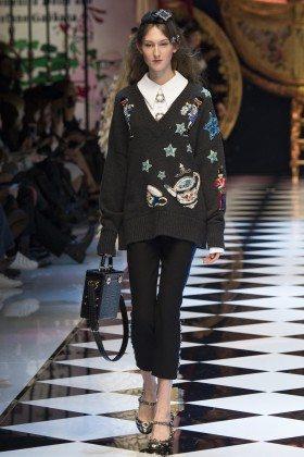 Jay Wright - Dolce & Gabbana Fall 2016 Ready-to-Wear