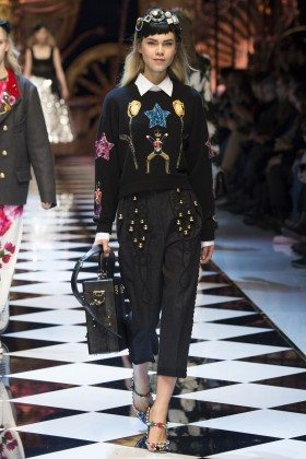 Line Brems - Dolce & Gabbana Fall 2016 Ready-to-Wear