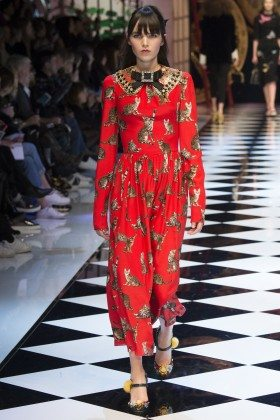 Lily Stewart - Dolce & Gabbana Fall 2016 Ready-to-Wear