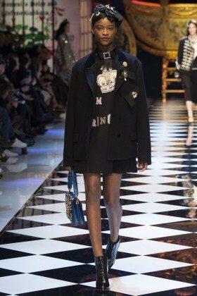 Mayowa Nicholas - Dolce & Gabbana Fall 2016 Ready-to-Wear