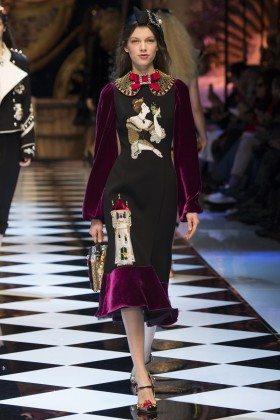 Anniek Abma - Dolce & Gabbana Fall 2016 Ready-to-Wear