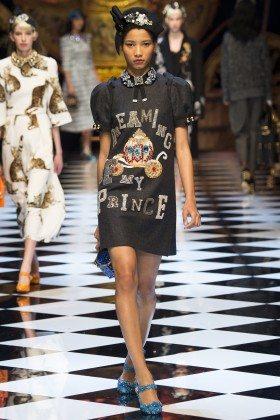 Lineisy Montero - Dolce & Gabbana Fall 2016 Ready-to-Wear