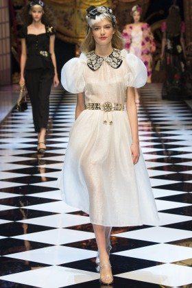 Emmy Rappe - Dolce & Gabbana Fall 2016 Ready-to-Wear