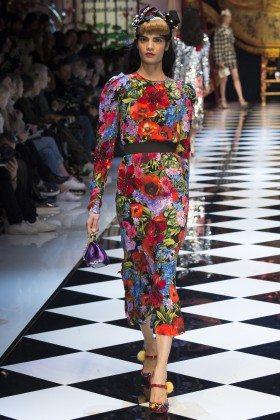 Bhumika Arora - Dolce & Gabbana Fall 2016 Ready-to-Wear