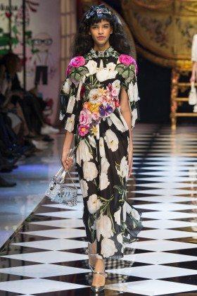 Austria Ulloa - Dolce & Gabbana Fall 2016 Ready-to-Wear