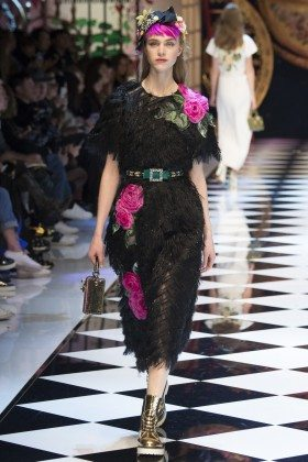 Hedvig Palm - Dolce & Gabbana Fall 2016 Ready-to-Wear