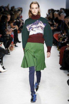 Maartje Verhoef - Emilio Pucci Fall 2016 Ready-to-Wear