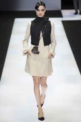 Blanca Padilla - Emporio Armani Fall 2016 Ready-to-Wear