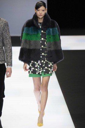 Sun Jung - Emporio Armani Fall 2016 Ready-to-Wear