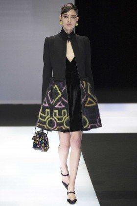 Georgiana Zloteanu - Emporio Armani Fall 2016 Ready-to-Wear