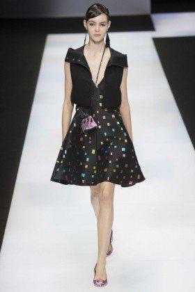 Irina Shnitman - Emporio Armani Fall 2016 Ready-to-Wear
