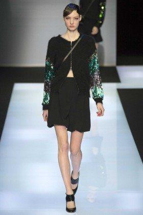 Susanne Knipper - Emporio Armani Fall 2016 Ready-to-Wear