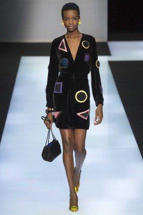 Maria Borges - Emporio Armani Fall 2016 Ready-to-Wear