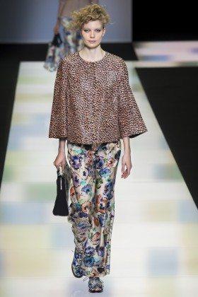 Saara Sihvonen - Giorgio Armani Fall 2016 Ready-to-Wear