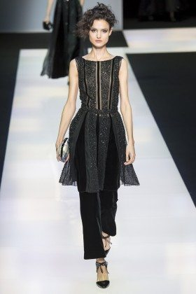Blanca Padilla - Giorgio Armani Fall 2016 Ready-to-Wear