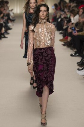 Isabella Ridolfi - Lanvin Fall 2016 Ready-to-Wear