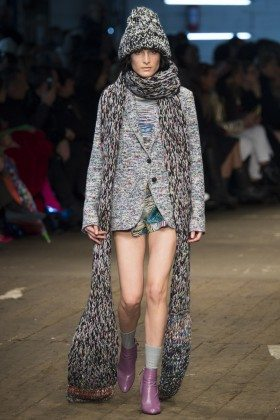 Heather Kemesky - Missoni Fall 2016 Ready-to-Wear