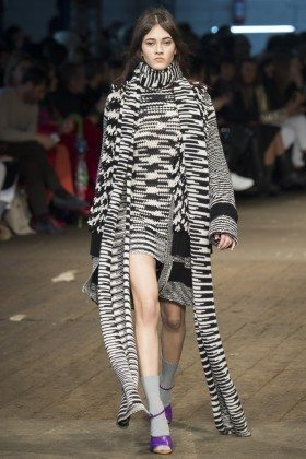 Greta Varlese - Missoni Fall 2016 Ready-to-Wear