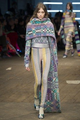 Lia Pavlova - Missoni Fall 2016 Ready-to-Wear