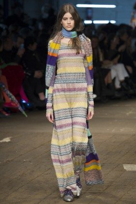 Bara Podzimkova - Missoni Fall 2016 Ready-to-Wear