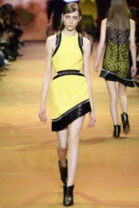 Lia Pavlova - Mugler Fall 2016 Ready-to-Wear