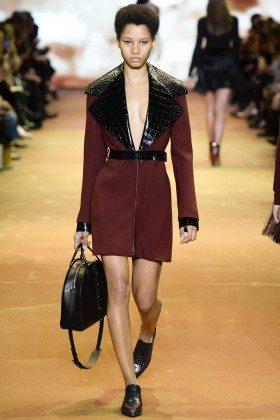 Lineisy Montero - Mugler Fall 2016 Ready-to-Wear