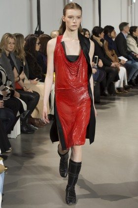Julia Hafstrom - Paco Rabanne Fall 2016 Ready-to-Wear