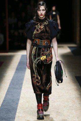 Vittoria Ceretti - Prada Fall 2016 Ready-to-Wear