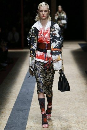 Harleth Kuusik - Prada Fall 2016 Ready-to-Wear