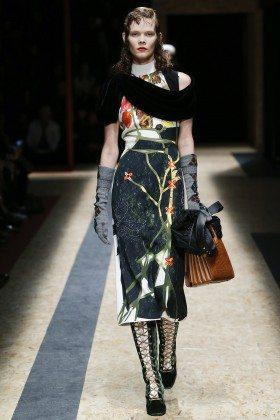 Irina Kravchenko - Prada Fall 2016 Ready-to-Wear