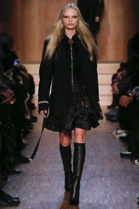 Frederikke Sofie - Givenchy Fall 2016 Ready-to-Wear