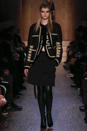 Olya Afanasyeva - Givenchy Fall 2016 Ready-to-Wear