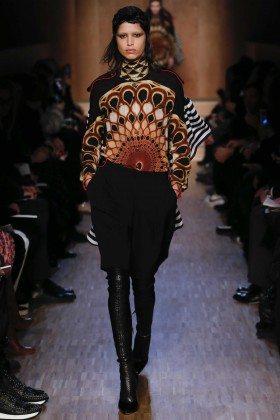 Mica Arganaraz - Givenchy Fall 2016 Ready-to-Wear