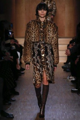 Charlee Fraser - Givenchy Fall 2016 Ready-to-Wear