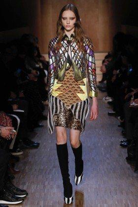 Lia Pavlova - Givenchy Fall 2016 Ready-to-Wear