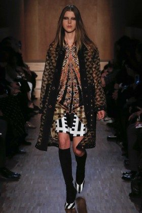Ally Ertel - Givenchy Fall 2016 Ready-to-Wear