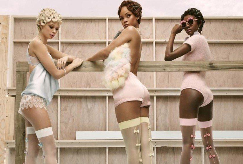 Rihanna'dan Çorap Koleksiyonu!