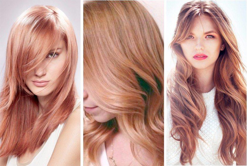 Saçlarda Harika Renkler: Rose Gold