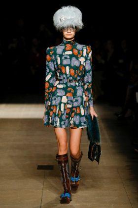 Sveta Black - Miu Miu Fall 2017 Ready-to-Wear