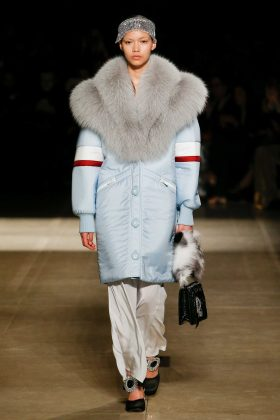 Melissa Anderson - Miu Miu Fall 2017 Ready-to-Wear