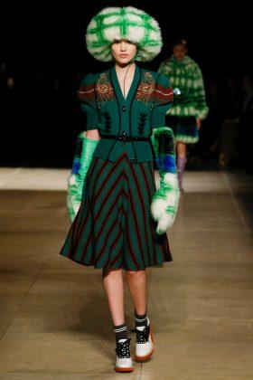 Fernanda Beuker - Miu Miu Fall 2017 Ready-to-Wear