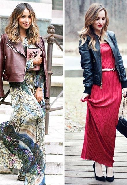 Sonbahar İçin Maksi Elbise Önerileri
