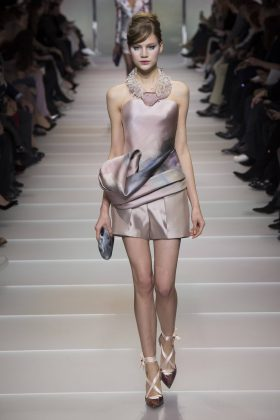 Ana Bary - Armani Privé Spring 2018 Couture